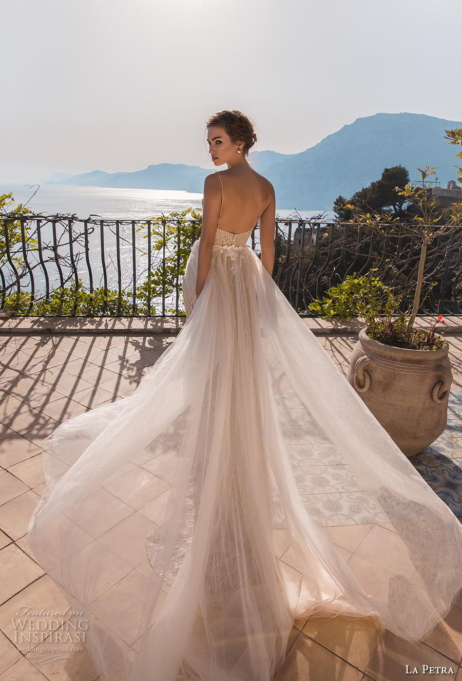 la petra 2019 bridal spaghetti strap dee plunging sweetheart neckline full embellishment elegant glamorous sheath wedding dress open back chapel train (14) bv