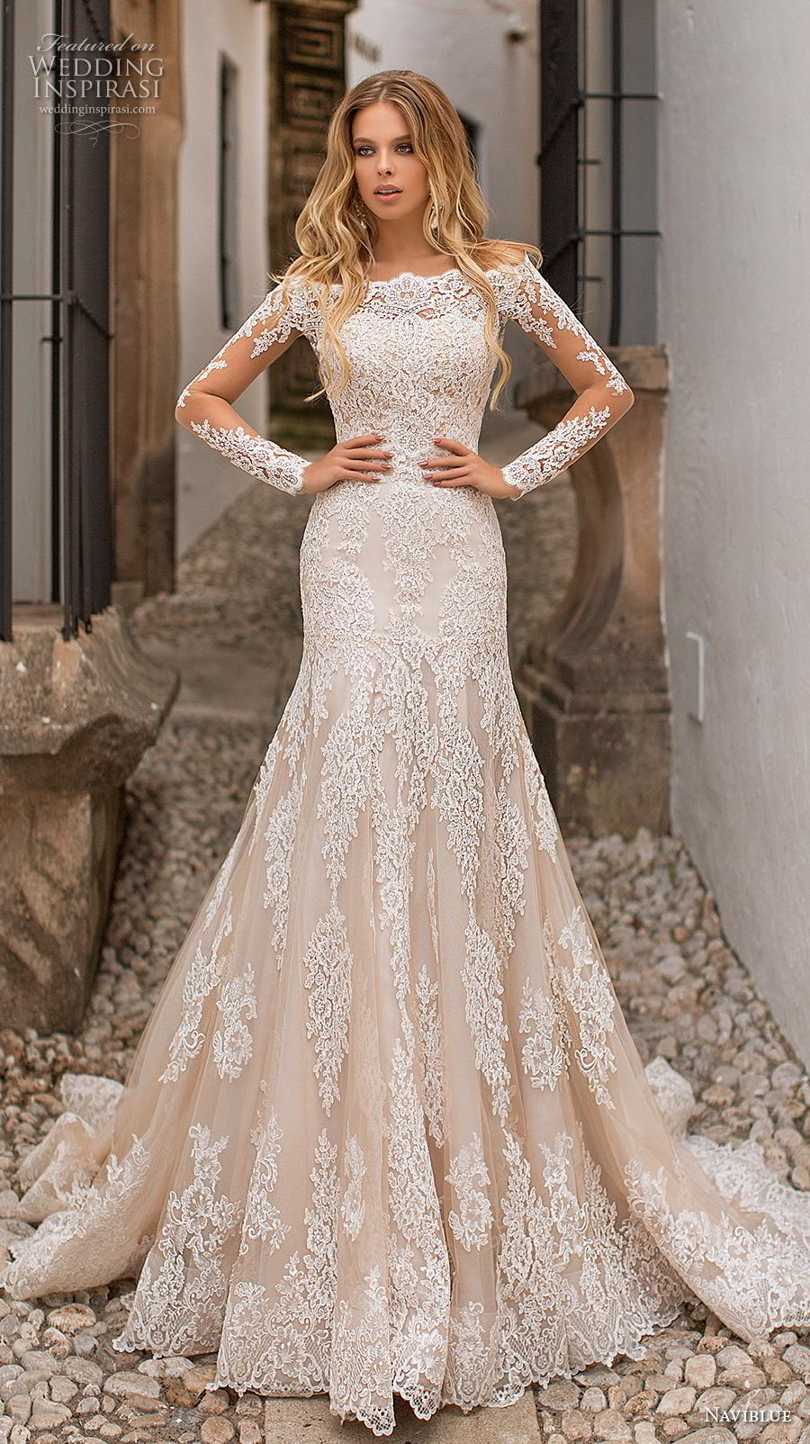 "Naviblue 2019 Wedding Dresses — ""Dolly"" Bridal Collection ..."