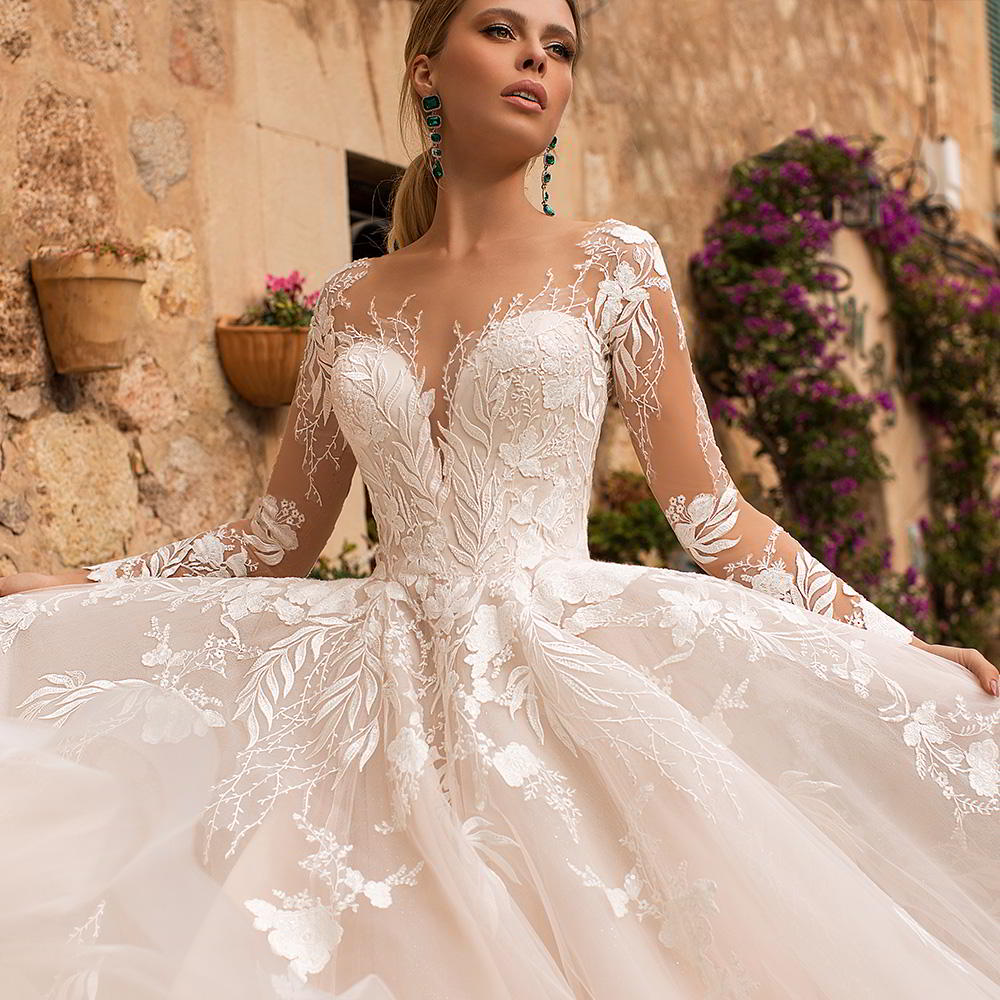 "Pictures Of Gowns For Wedding: ""Dolly"" Bridal Collection"