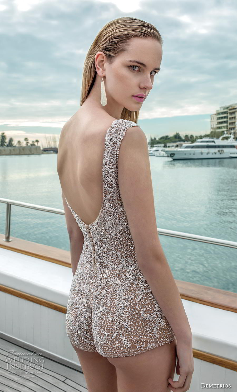 6233cd73b22a8 Swimsuit Wedding Dress