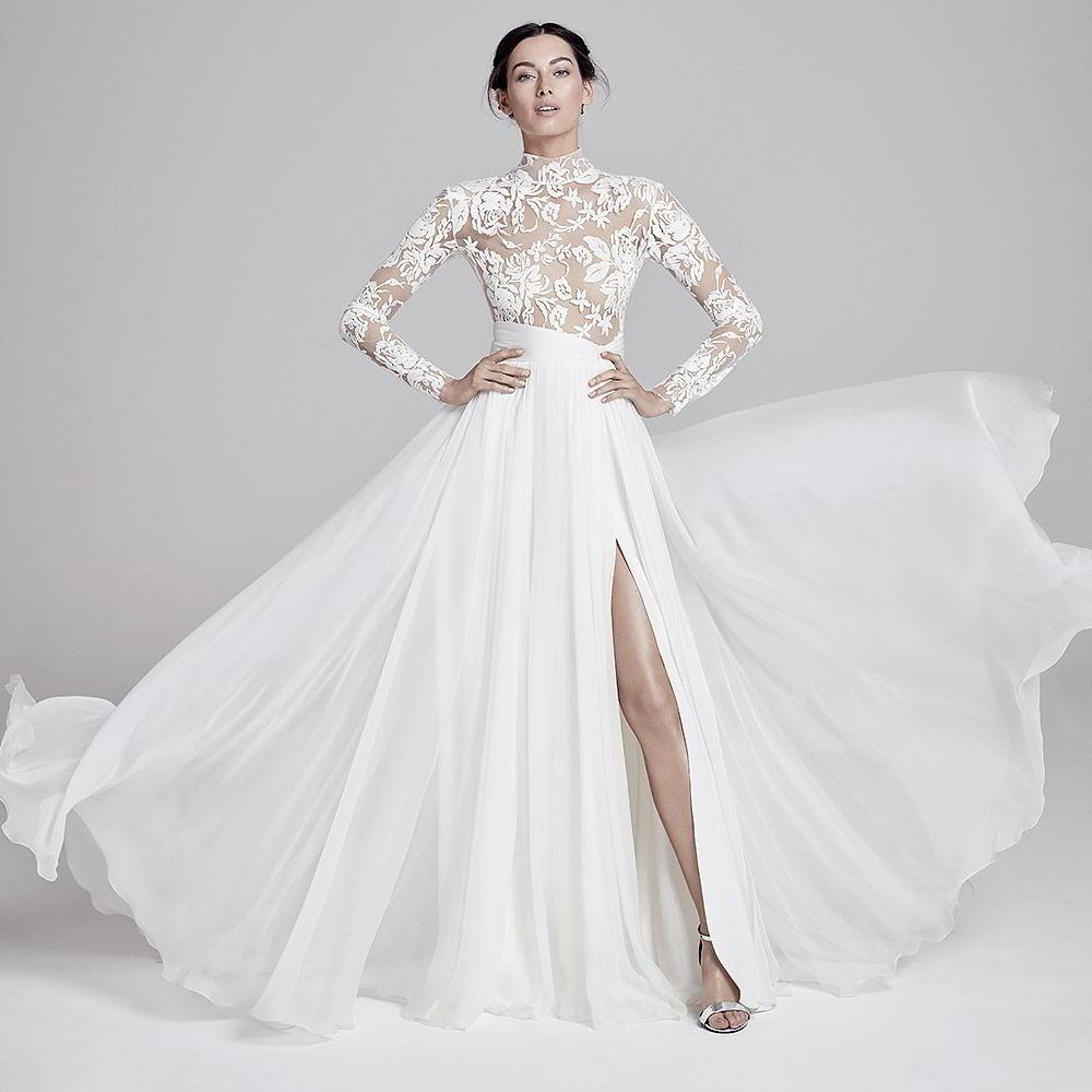 Real Brides Suzanne Neville: Suzanne Neville 2019 Wedding Dresses