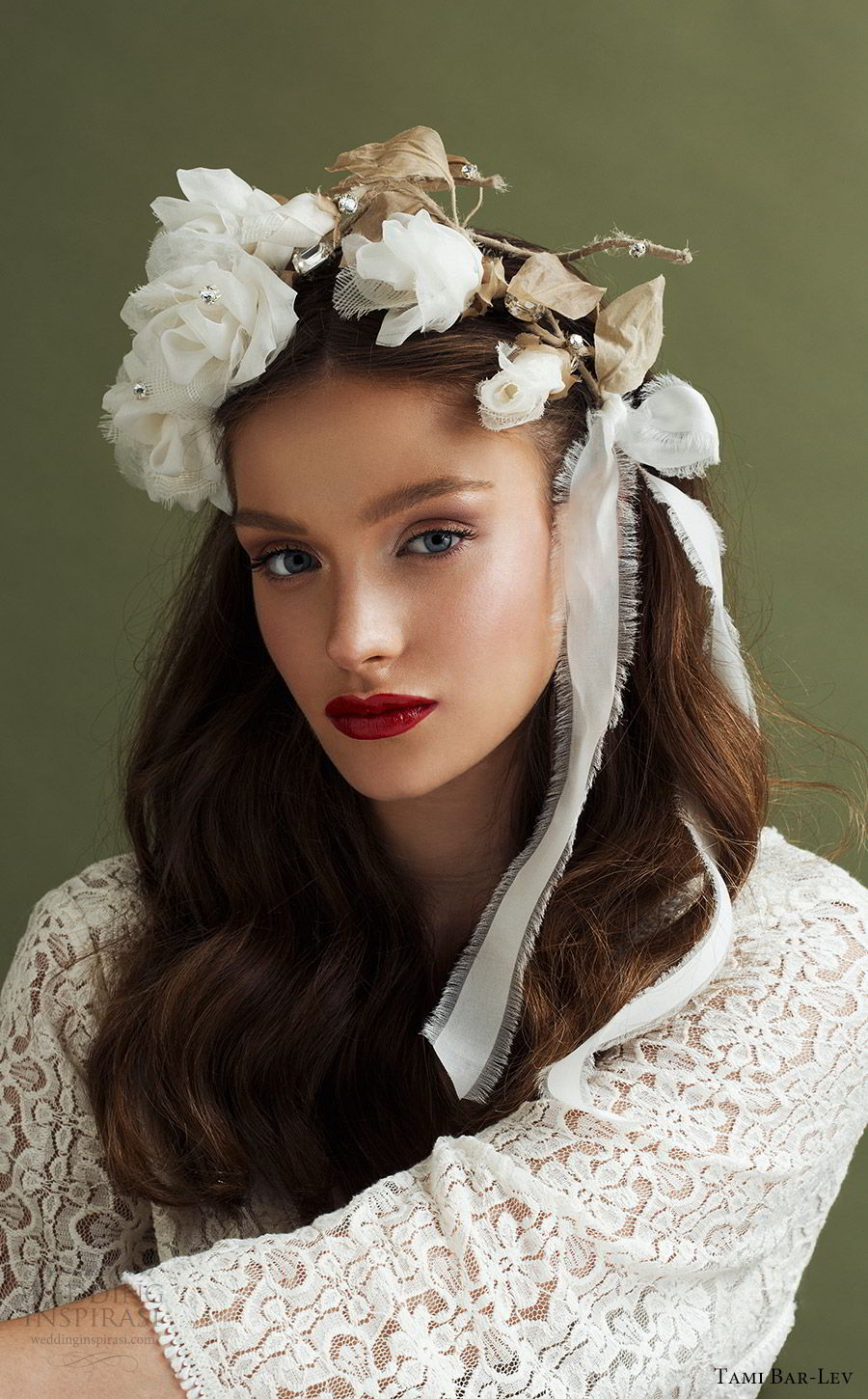 tami bar lev headpiece 2019 bridal hair accessories big dreams rose crown