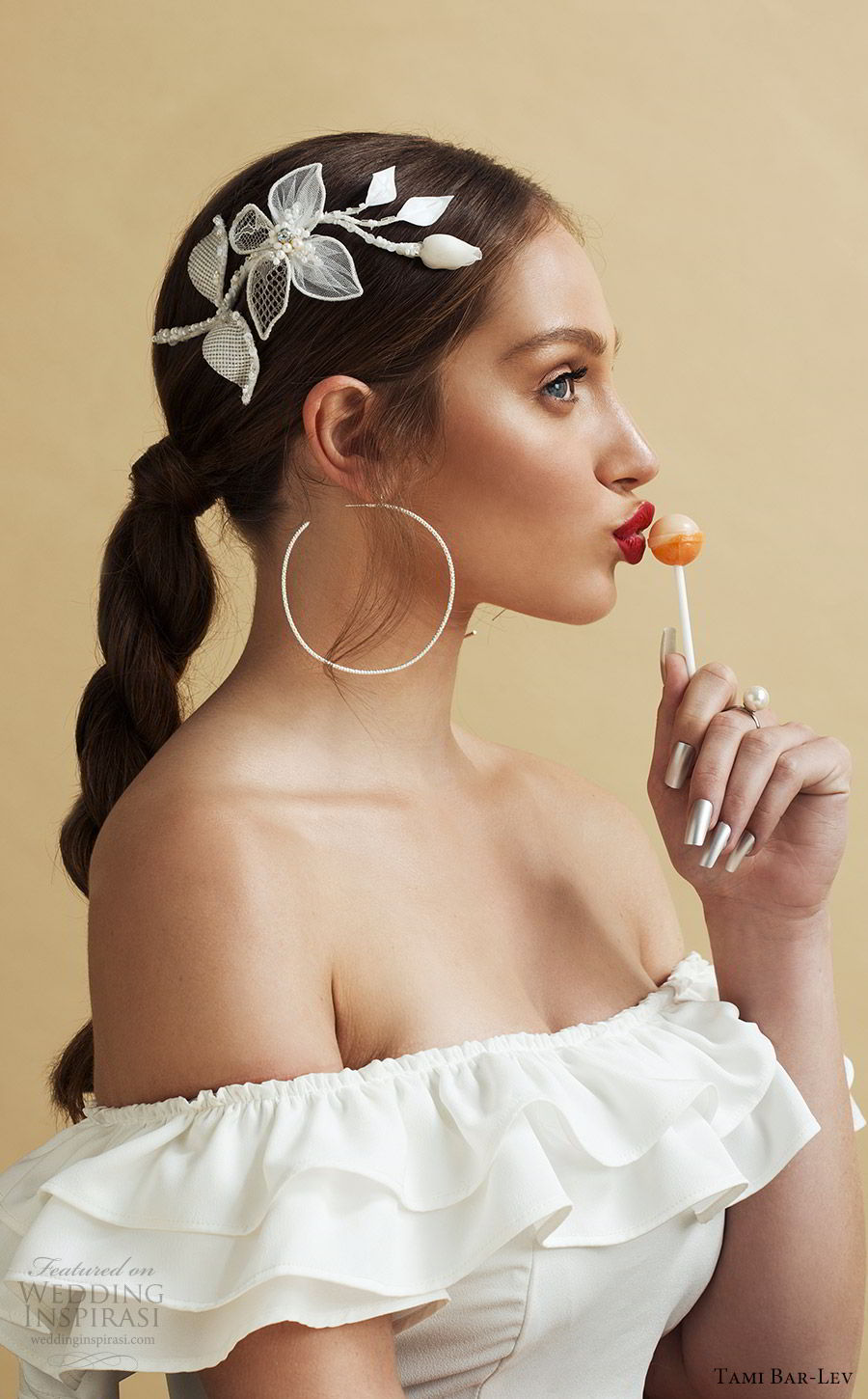 tami bar lev headpiece 2019 bridal hair accessories la jolla wedding hair accessory