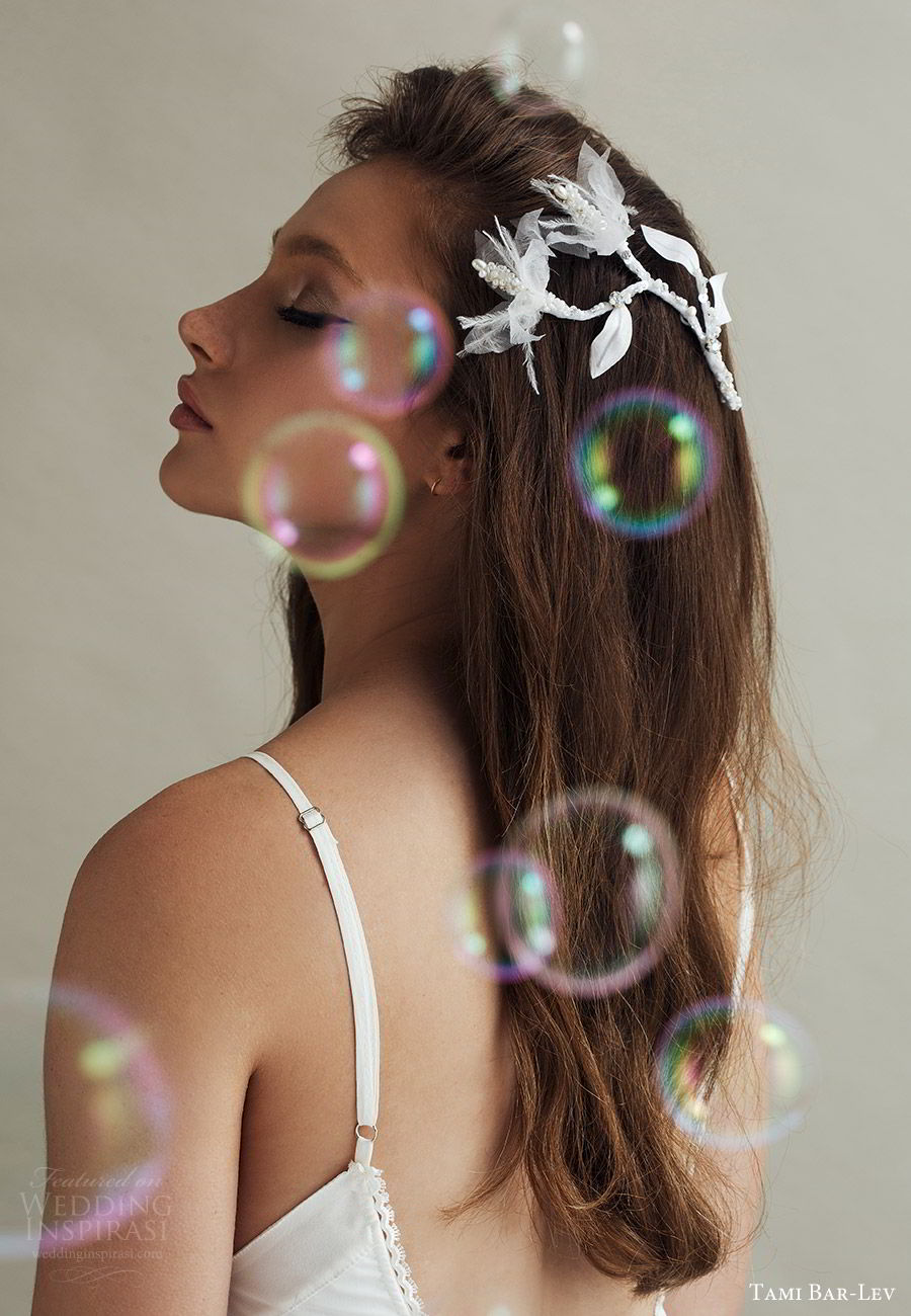 tami bar lev headpiece 2019 bridal hair accessories petit flirty flowers comb