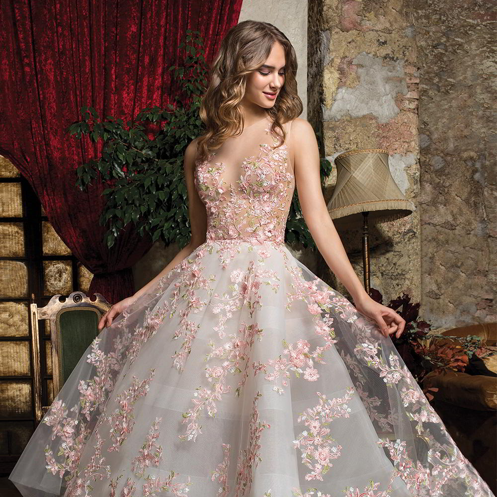 Pictures Of Gowns For Wedding: Cosmobella 2019 Wedding Dresses