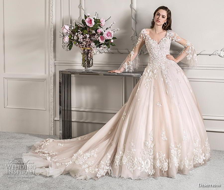 2019 Wedding Ball Gowns: Demetrios 2019 Wedding Dresses