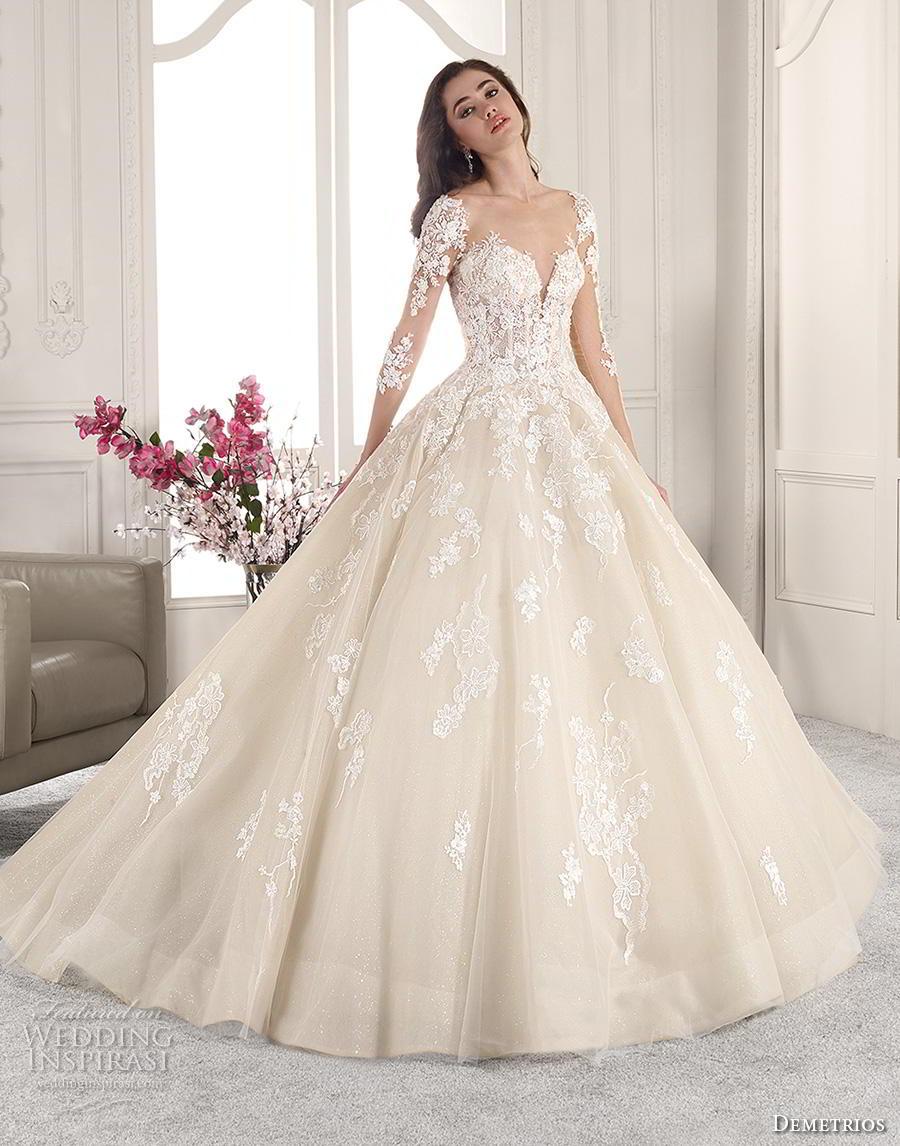 Demitrious Wedding Gowns.Demetrios 2019 Wedding Dresses Starlight Bridal