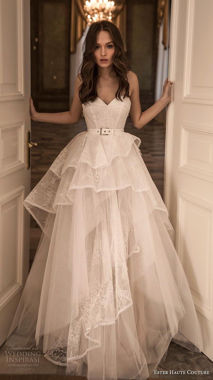 ester haute couture 20182019 wedding dresses  wedding