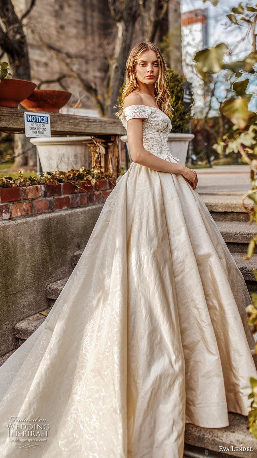 eva lendel 2019 bridal off the shoulder sweetheart neckline heavily embellished bodice princess ball gown a  line wedding dress chapel train (1) sdv