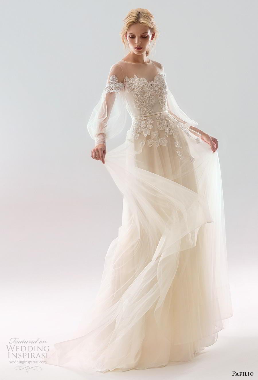 Papilio 2019 Wedding Dresses White Wind Bridal
