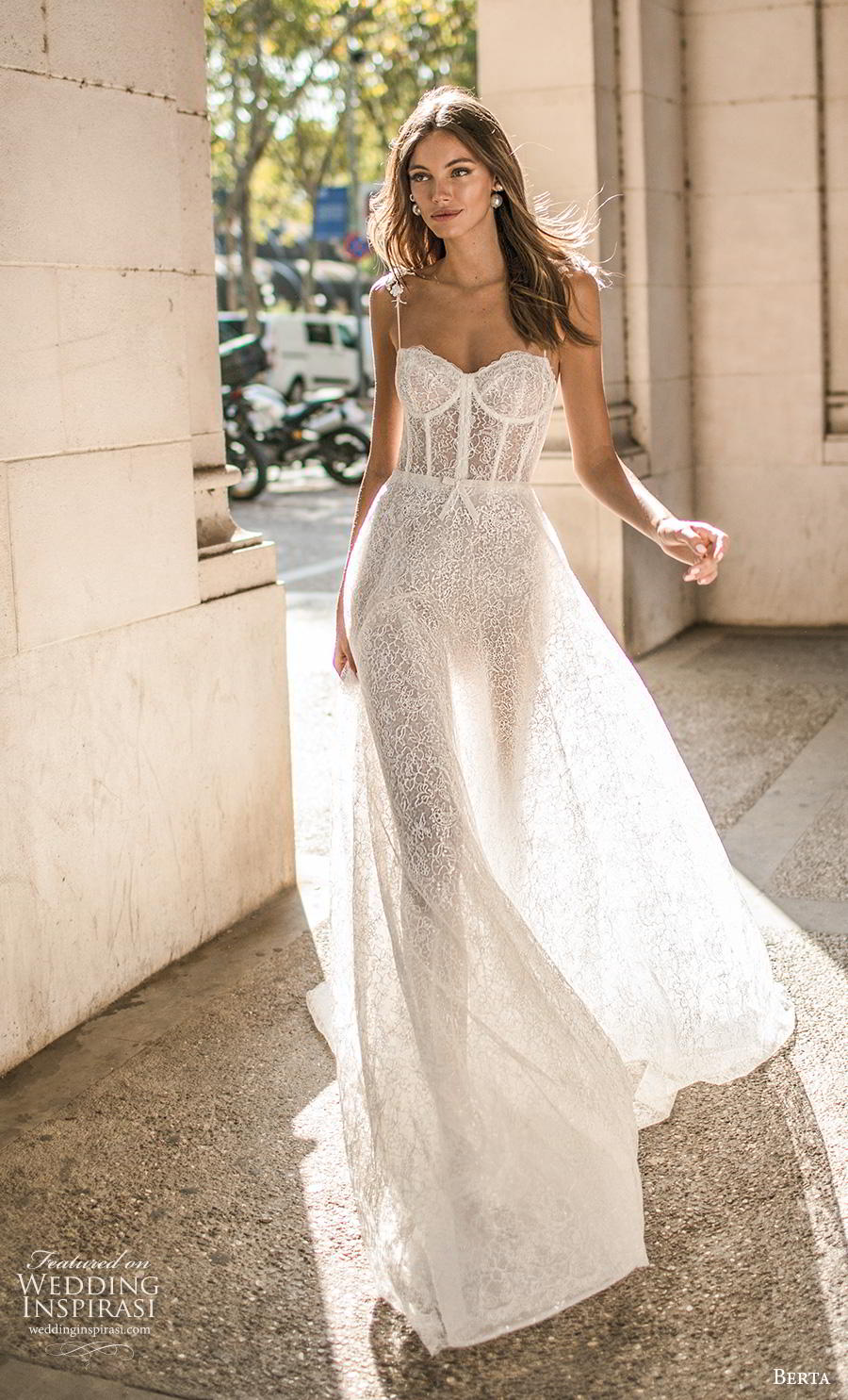 berta fall 2019 muse bridal spaghetti strap sweetheart neckline full embellishment bustier romantic sexy soft a  line wedding dress mid back chapel train (9) mv