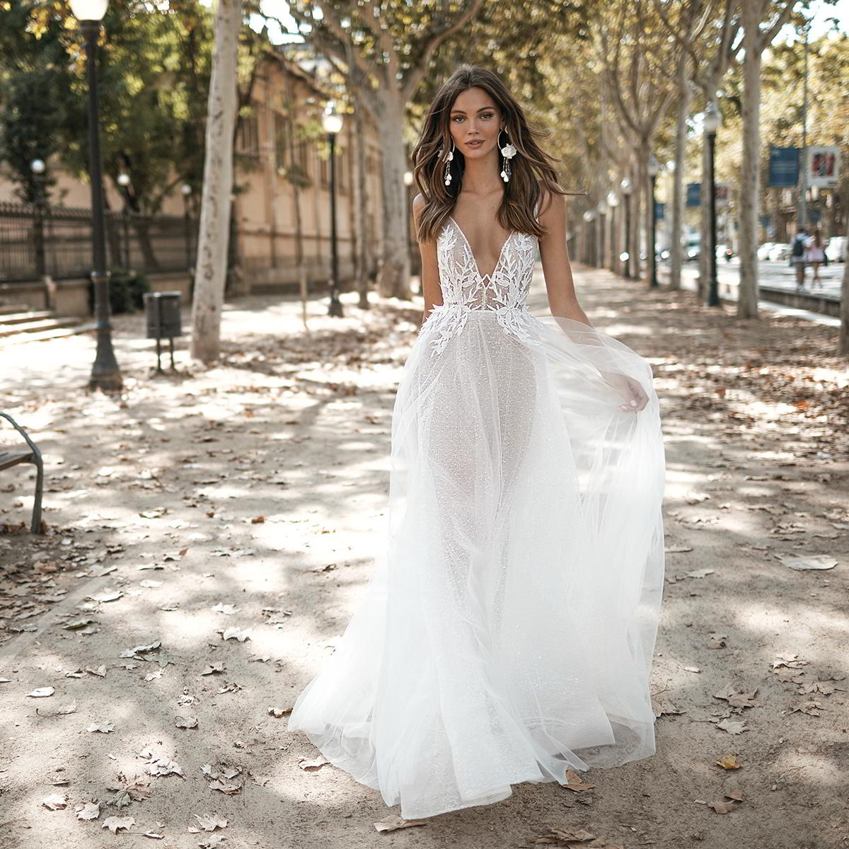 Berta Wedding Dresses.Muse By Berta 2019 Barcelona Wedding Dresses Wedding Inspirasi