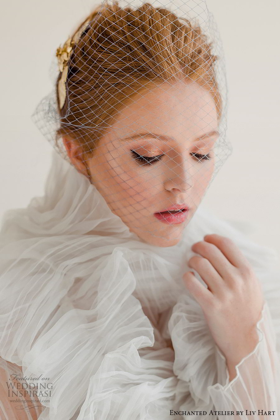 enchanted atelier liv hart fall 2019 accessories birdcage veil (9) mv