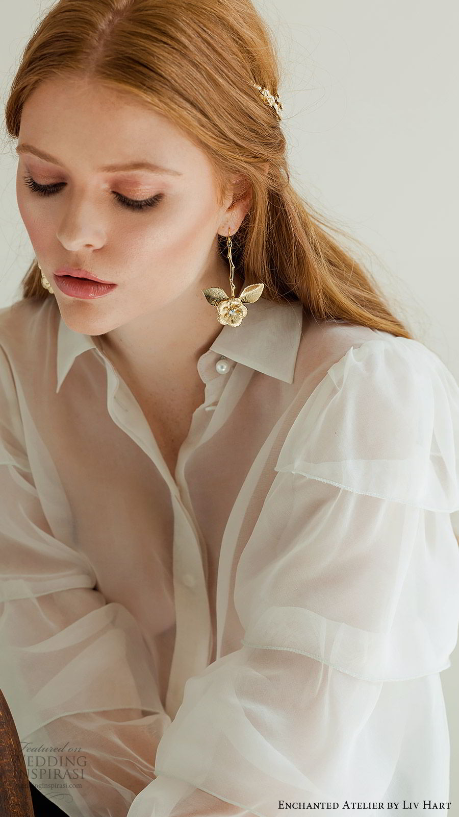 enchanted atelier liv hart fall 2019 accessories gold drop earrings (19) mv