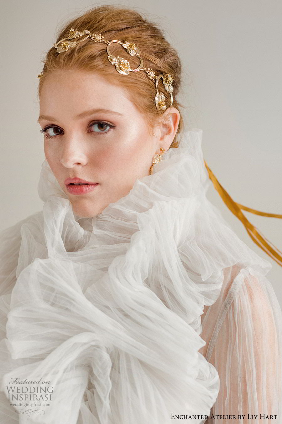 enchanted atelier liv hart fall 2019 accessories gold headband headpiece (1) mv