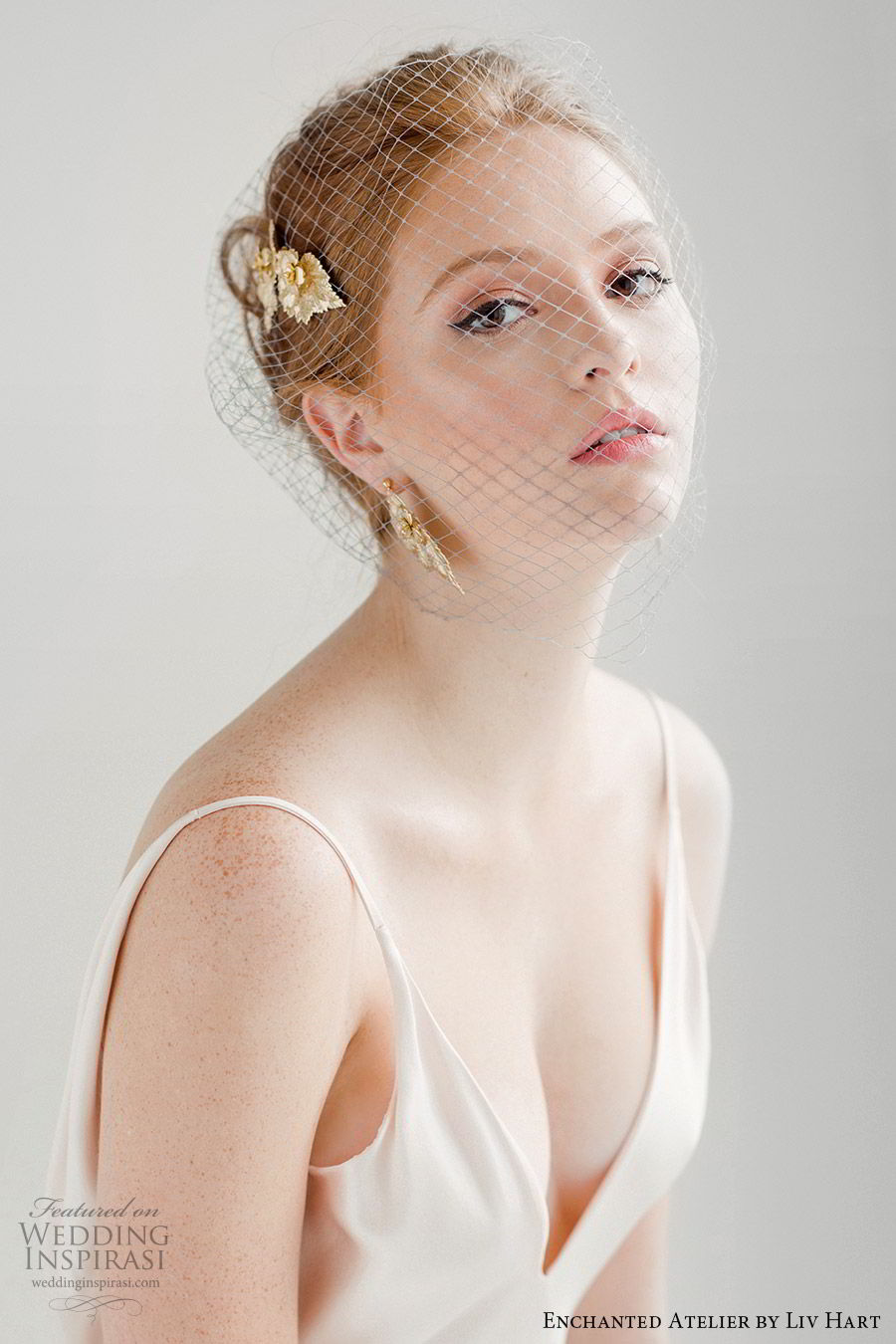 enchanted atelier liv hart fall 2019 accessories gold headpiece earrings (18) mv