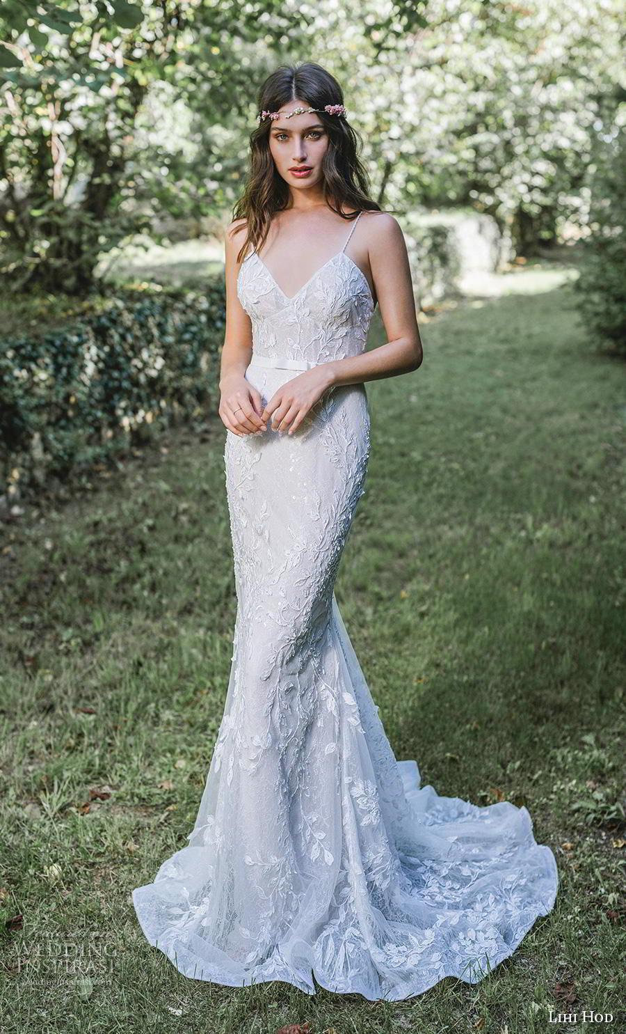 lihi hod 2019 bridal spaghetti strap diamond neckline full embellishment elegant fit and flare sheath wedding dress backless sweep train (4) mv