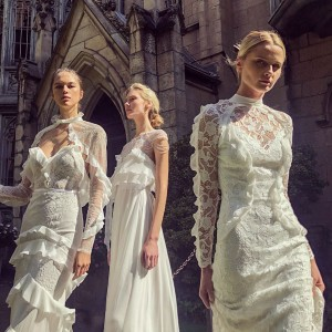 From Marriages To Mars Alon Livné S Epic Fashion Odyssey Featuring White 2019 Wedding Dresses