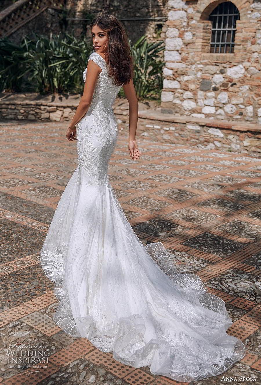 anna sposa 2019 bridal off the shoulder sweetheart neckline full embellishment elegant trumpet mermaid wedding dress chapel train (16) bv
