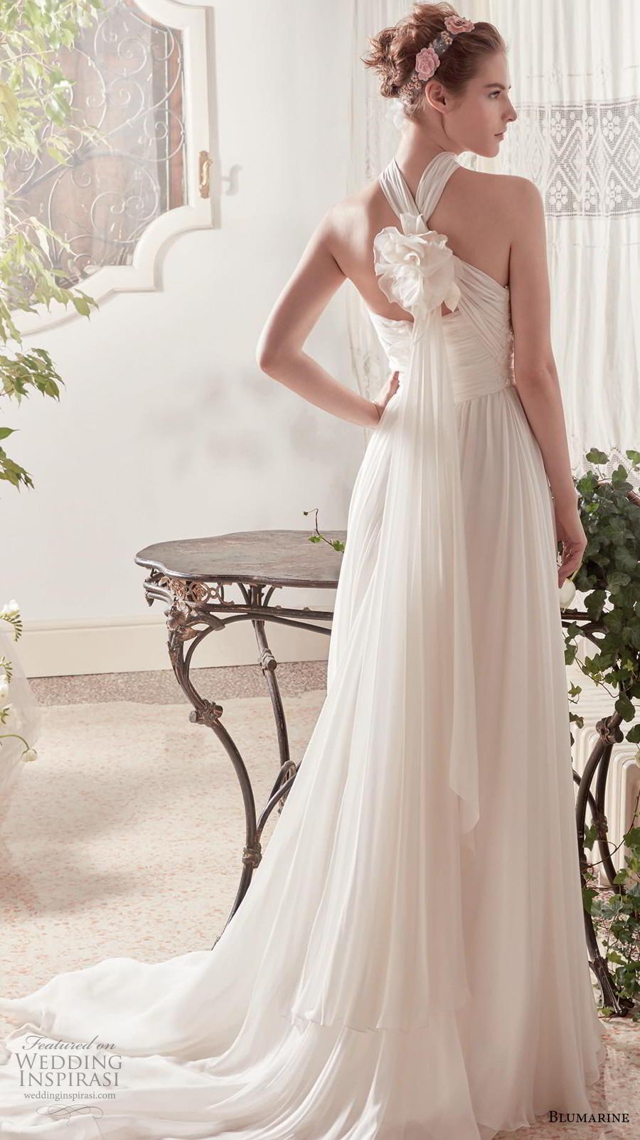 blumarine sposa 2019 bridal strapless straight across neckline heavily embellished bodice romantic a  line wedding dress mid back medium train (5) bv
