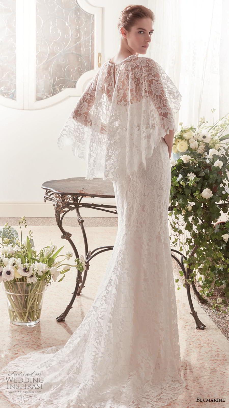 blumarine sposa 2019 bridal strapless sweetheart neckline full embellishment elegant fit and flare wedding dress bolero mid back sweep train (2) bv