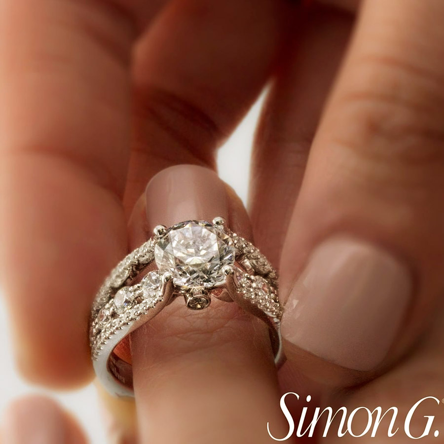 simon g jewelry 2018 committed diamond engagement ring MR2690