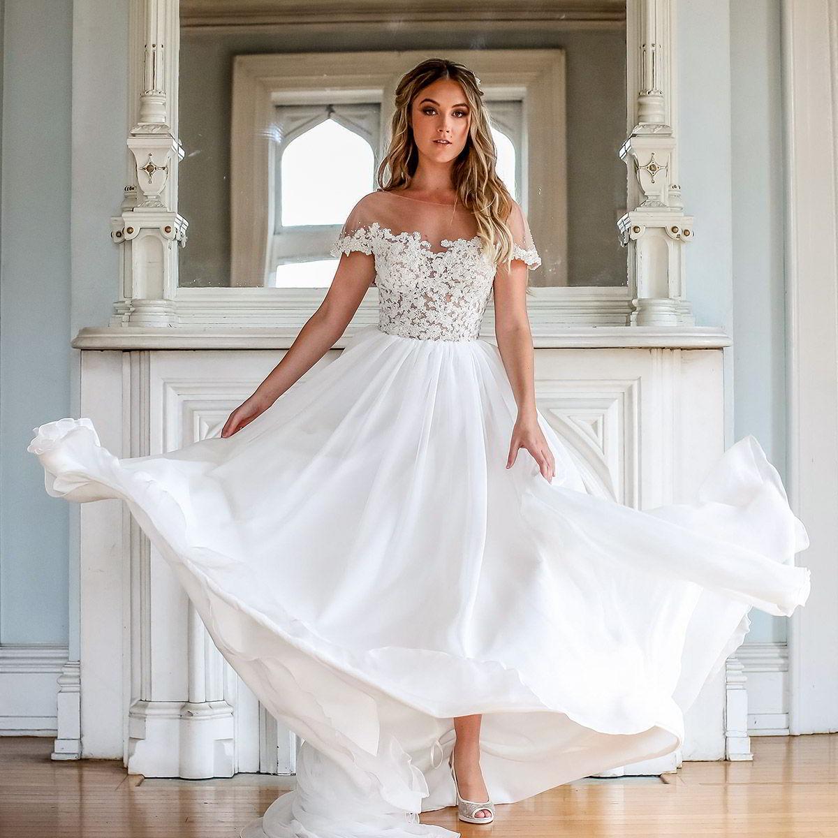 Barbara Kavchok Fall 2019 Wedding Dresses