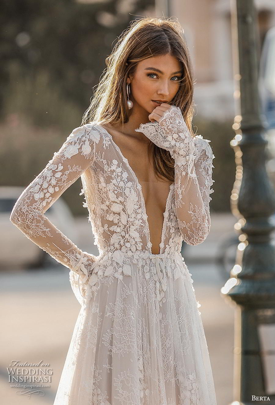 fabf74571b Berta Fall 2019 Wedding Dresses.