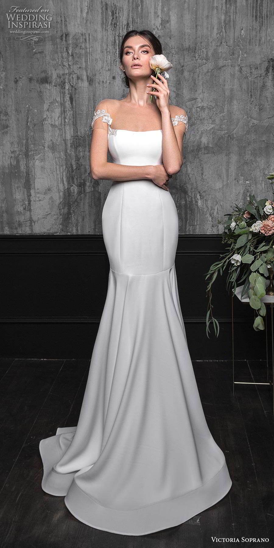 Victoria Soprano 2020 Wedding Dresses Chic Royal