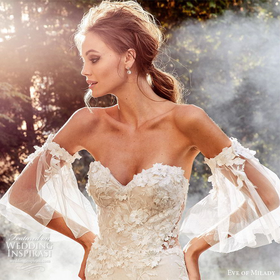 Eve Of Milady Bridal Wedding Dress Collection Fall 2018: Eve Of Milady Boutique Fall 2018-2019 Wedding Dresses