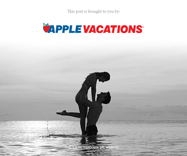 apple vacations secrets resorts banner below sponsored post on wedding inspirasi