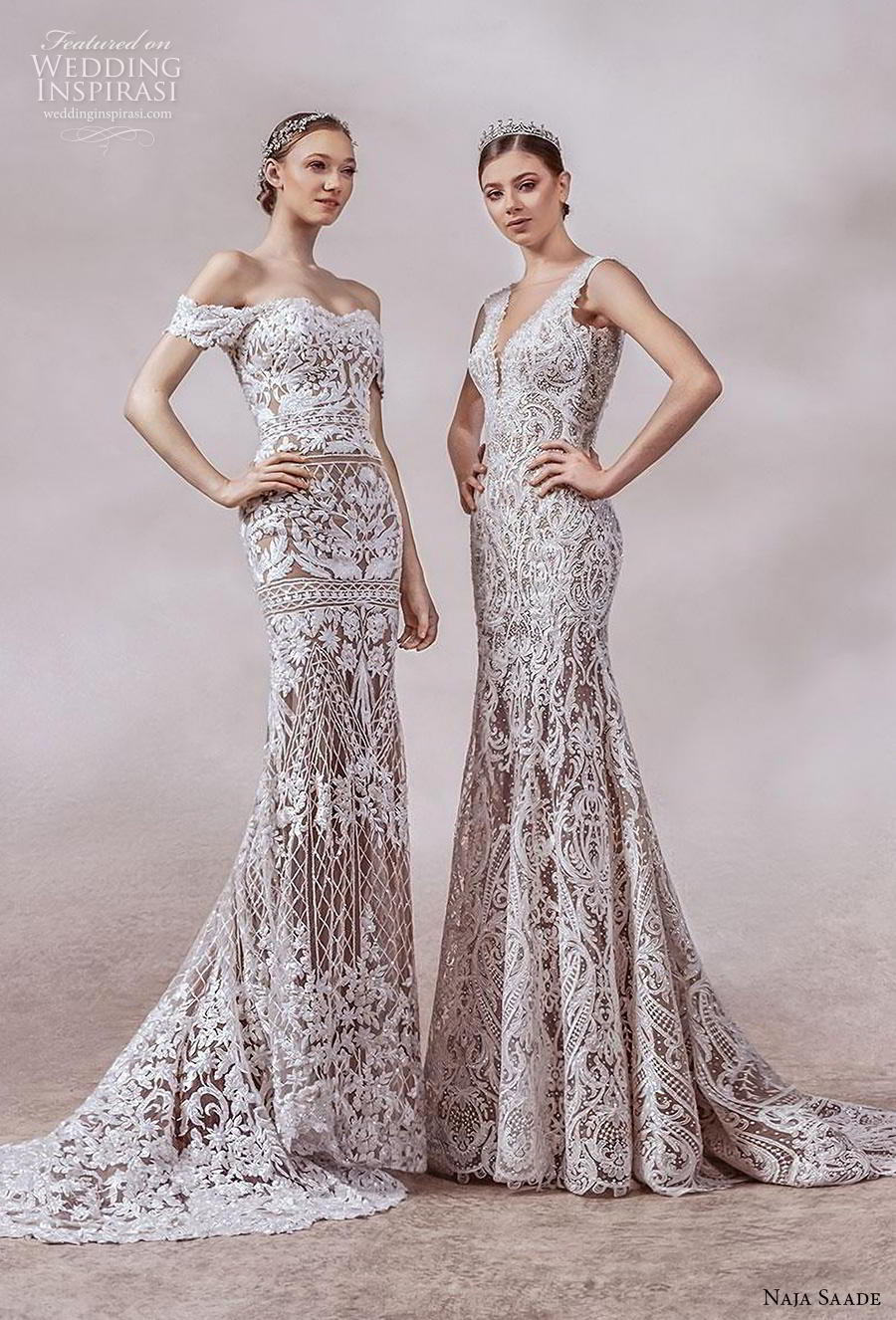 naja saade 2018 bridal elegant glamorous beautiful gorgeous wedding dresses