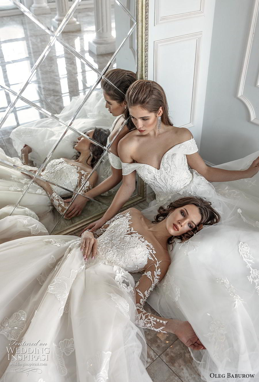 oleg baburow 2019 bridal beautiful wedding gowns