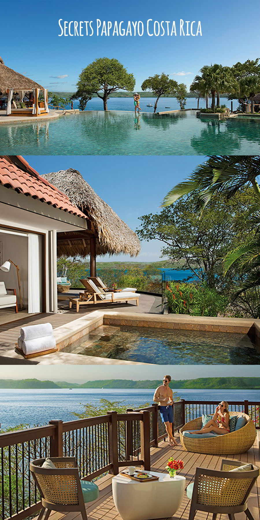 secrets resorts papagayo costa rica destination wedding venue honeymoon beach ocean infinity pool ocean view suite