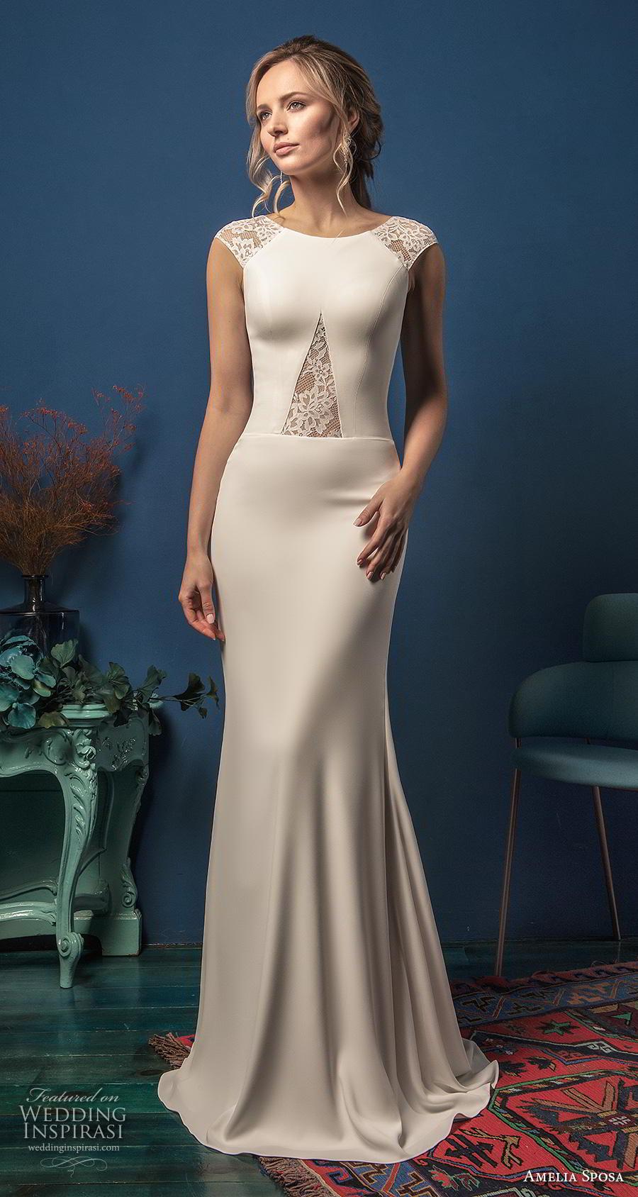 "Amelia Sposa 2019 Wedding Dresses — ""Elegance"" Bridal ..."