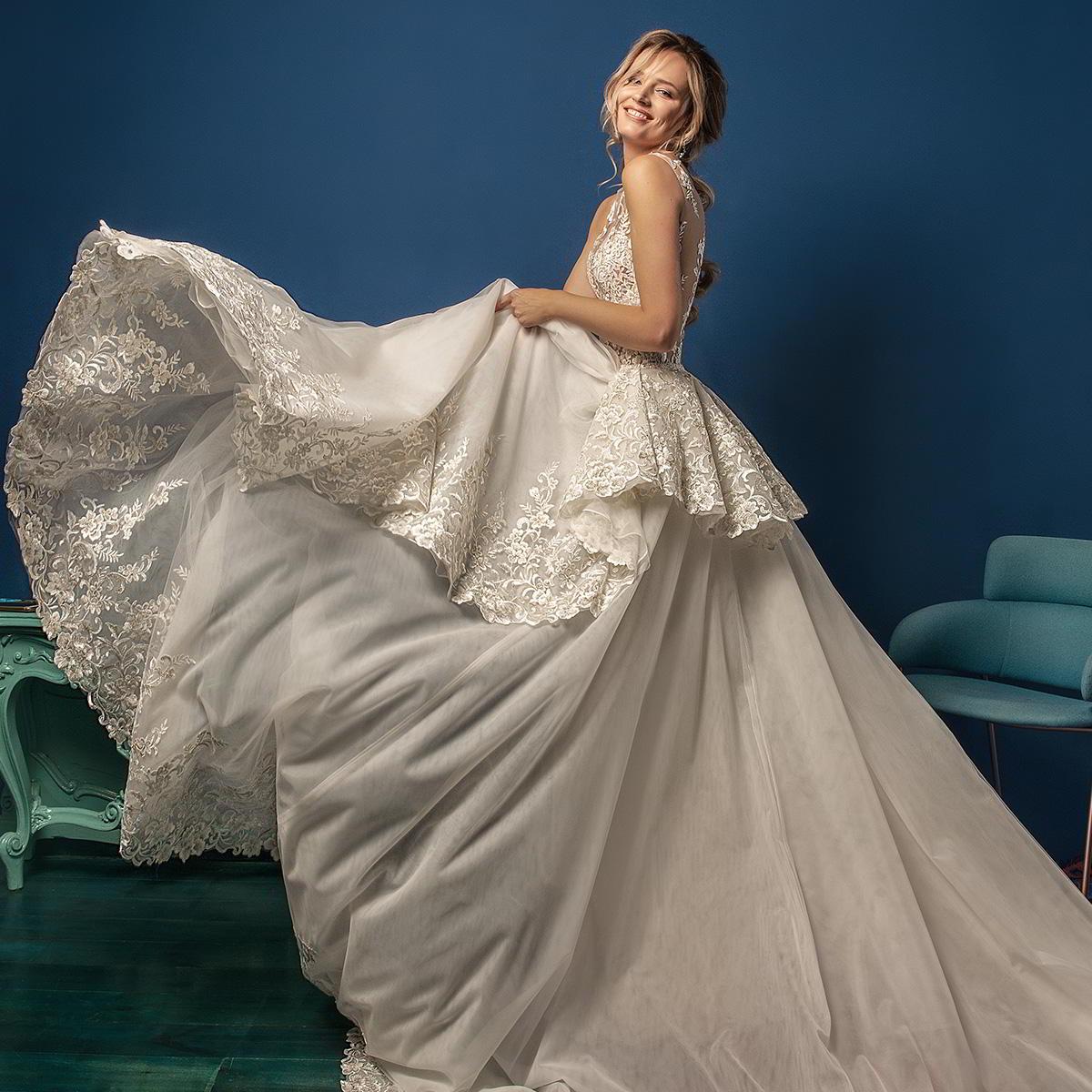 Amelia Sposa 2019 Wedding Dresses