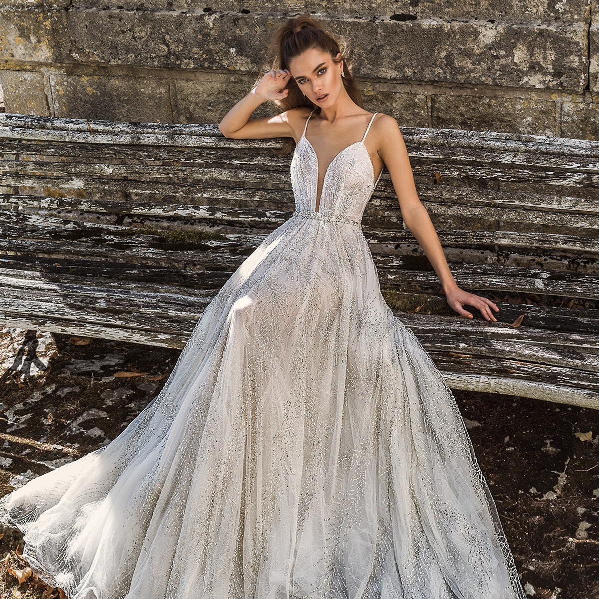 "adbe17a9b0cac Birenzweig 2019 Wedding Dresses — ""Paris Blossom"" Bridal Collection ..."