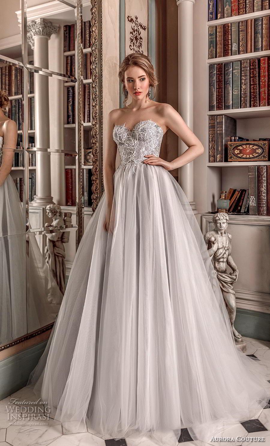 aurora couture 2019 bridal strapless sweetheart neckline heavily embellished bodice romantic a  line wedding dress (8) mv