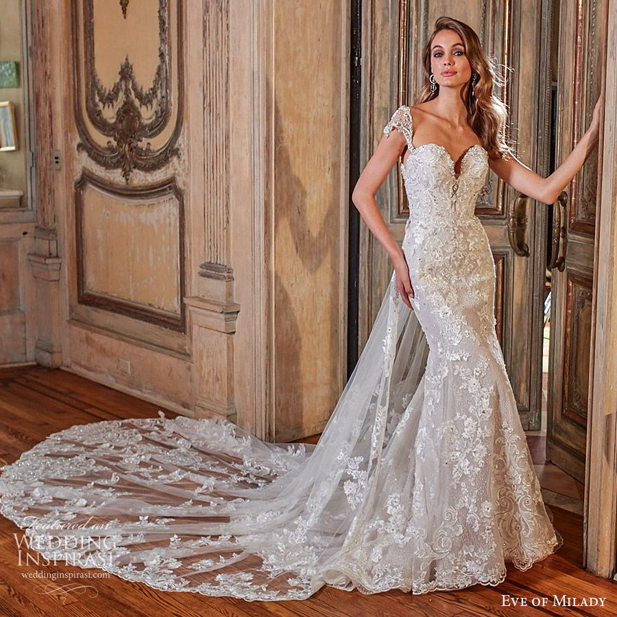 Eve Of Milady Bridal Wedding Dress Collection Fall 2018: Eve Of Milady Couture Fall 2018-2019 Wedding Dresses