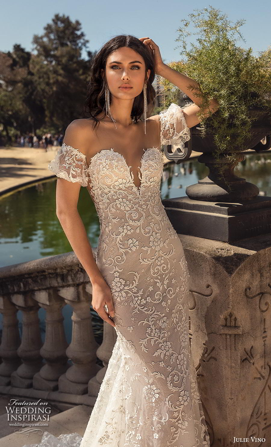 Julie Vino Spring 2020 Wedding Dresses Barcelona