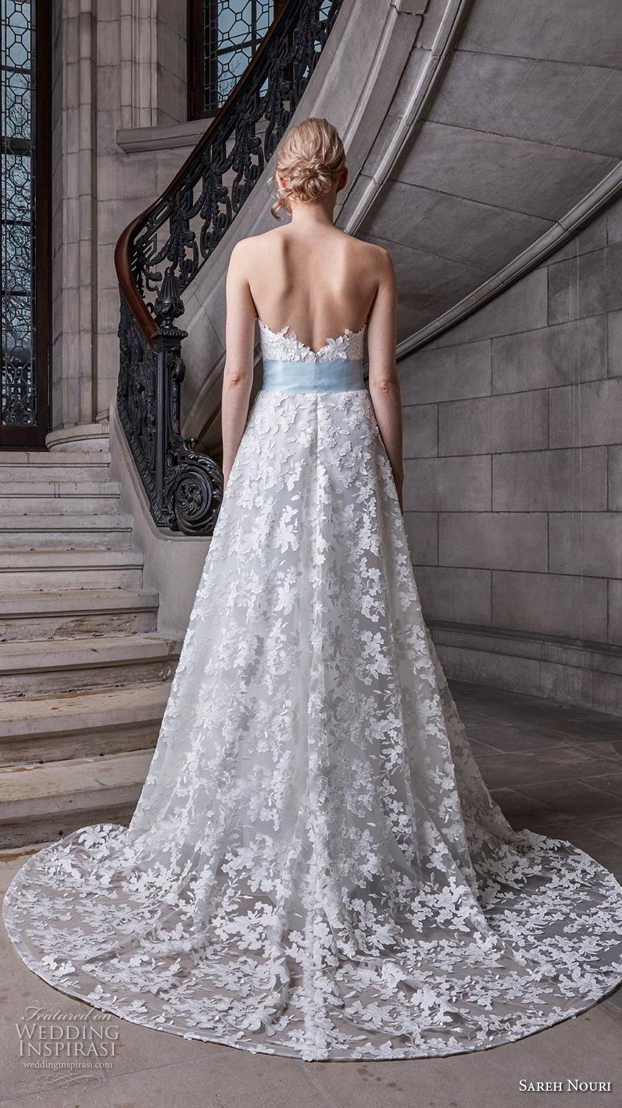 sareh nouri s2020 bridal strapless sweetheart neckline full embellishment romantic blue a  line wedding dress backless medium train (2) bv