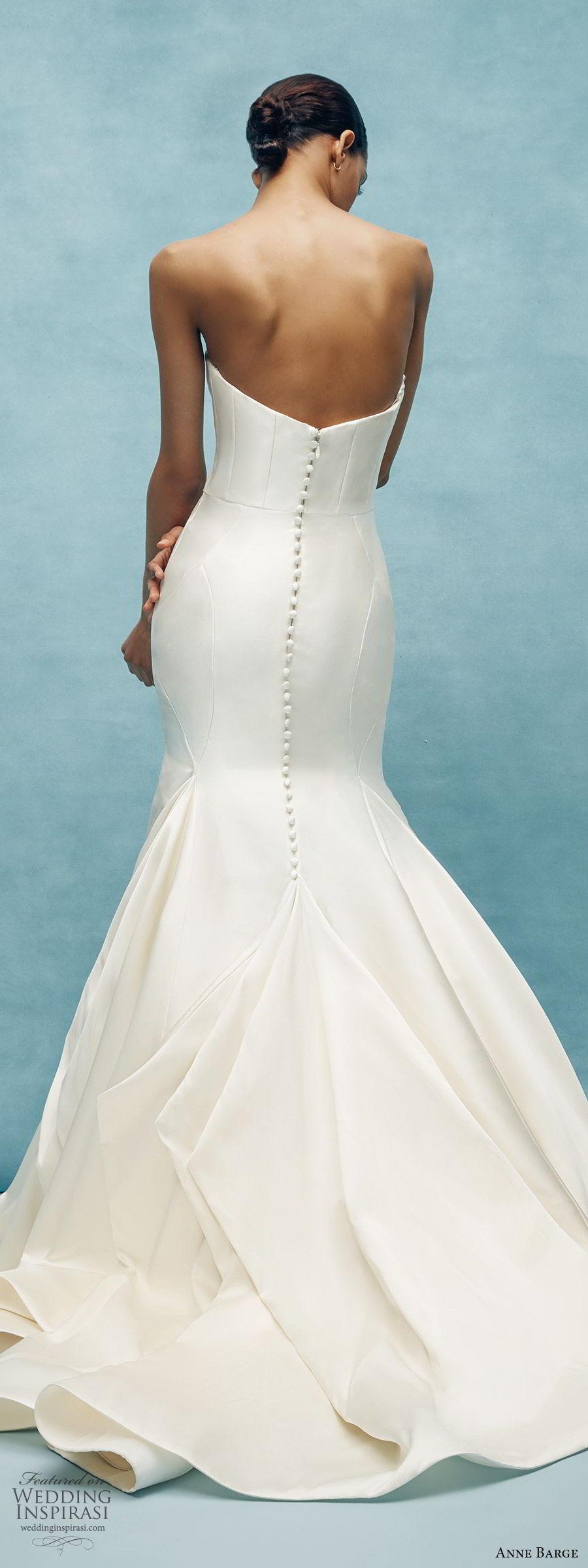 anne barge spring 2020 bridal strapless sweetheart fit flare mermaid wedding dress (8) clean minimal modern chapel train bv