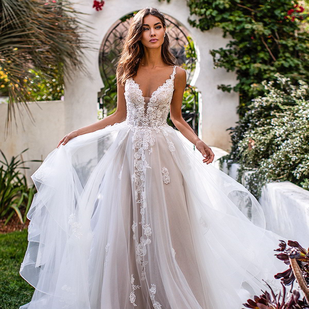 Couture Designer Wedding Gowns: Moonlight Couture Fall 2019 Wedding Dresses
