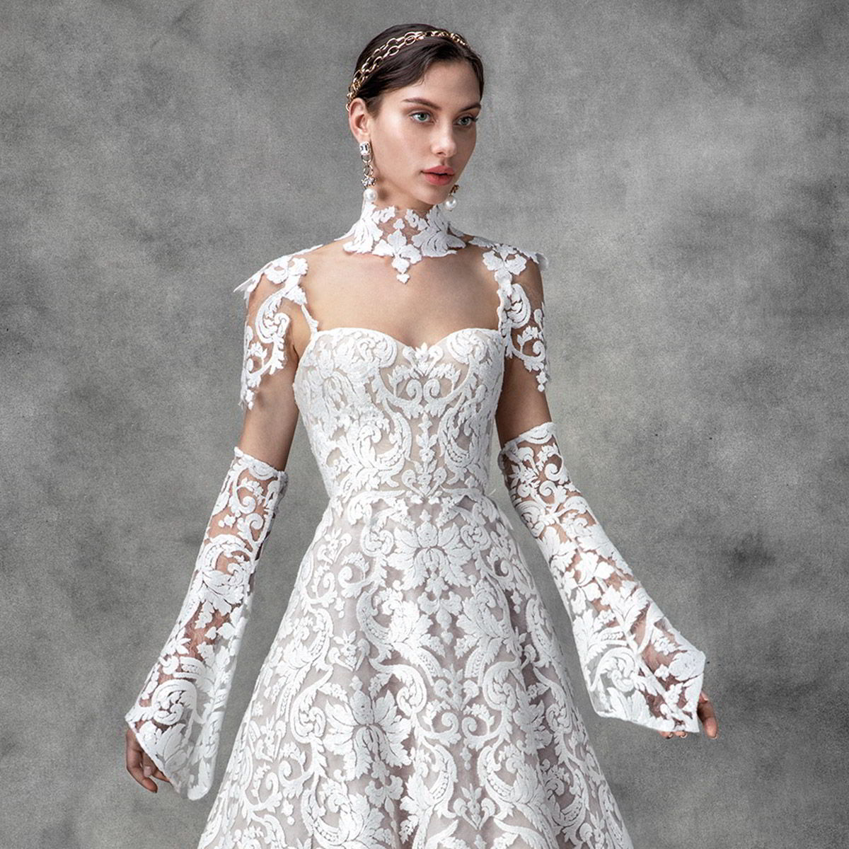 victoria kyriakides spring 2020 bridal collection featured on wedding inspirasi thumbnail