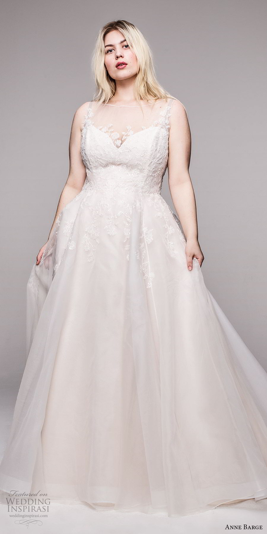 anne barge 2020 bridal plus size sleeveless illusion bateau neck sweetheart neckline embellished bodice a line ball gown wedding dress (11) romantic elegant mv