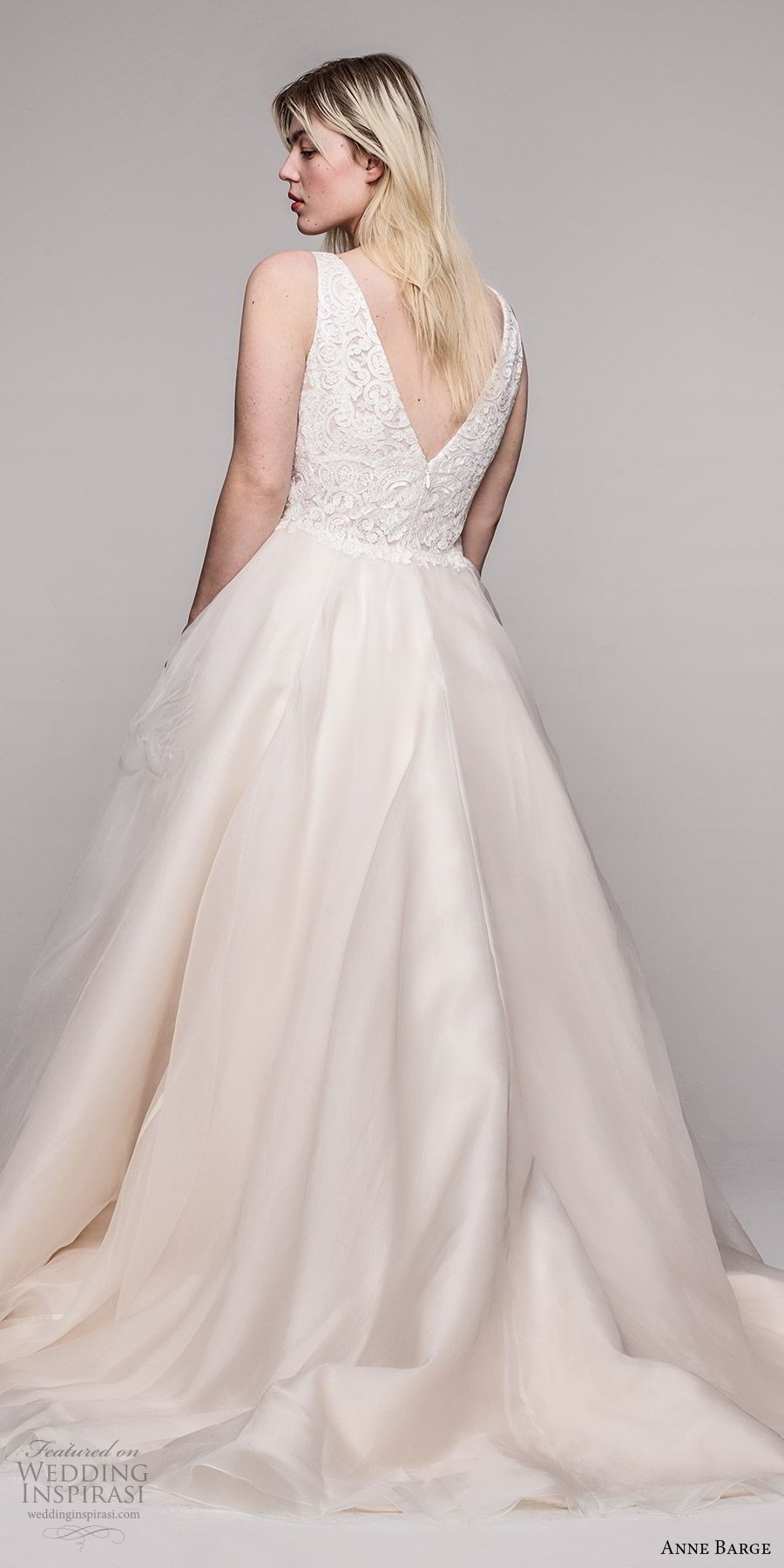 anne barge 2020 bridal plus size sleeveless thick straps v neckline embellished bodice a line ball gown wedding dress (12) elegant romantic blush champagne chapel train bv