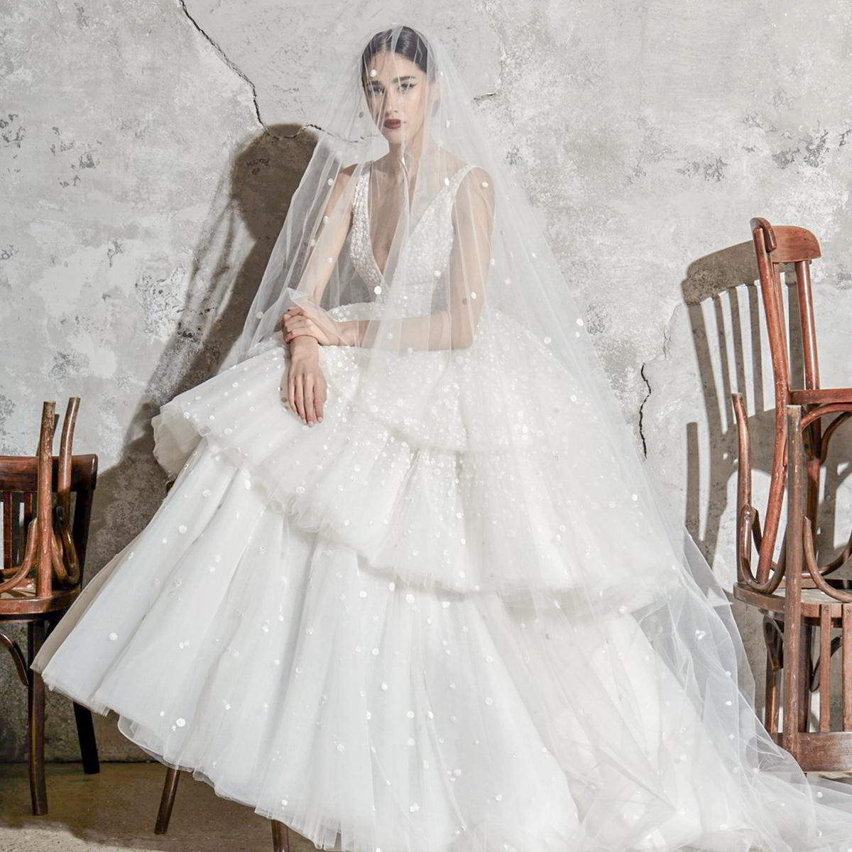 zuhair murad spring 2020 bridal wedding inspirasi featured wedding gowns dresses and collection