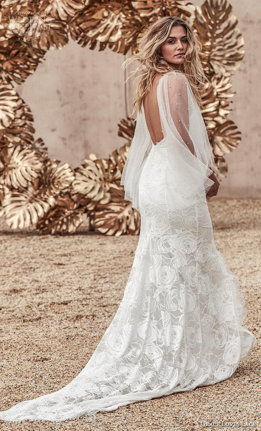 grace love lace 2020 bridal spaghetii strap deep sweetheart neckline full embellishment slit skirt romantic sexy fit and flare wedding dress backless medium train (2) bv