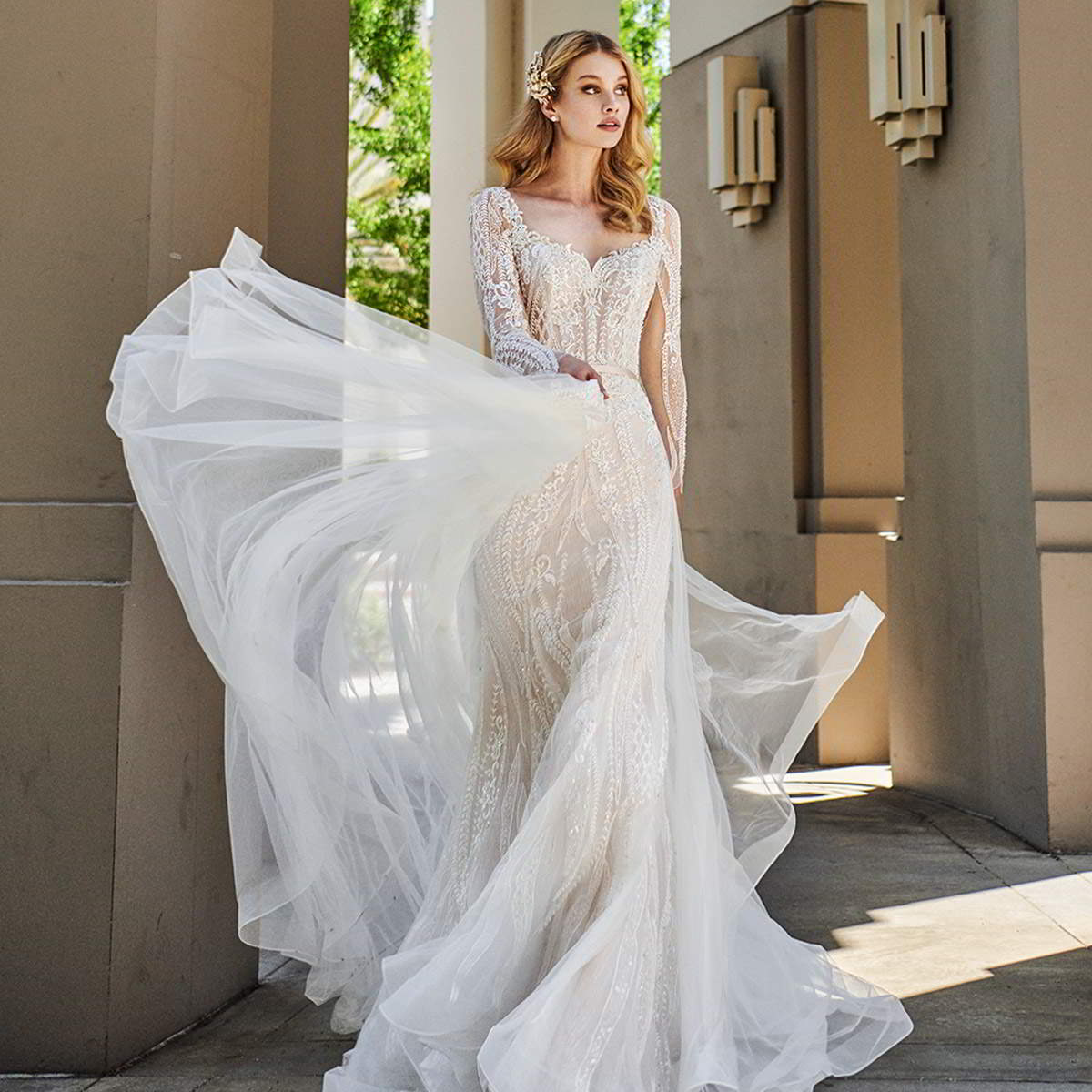 val stefani spring 2020 bridal collection featured on wedding inspirasi thumbnail