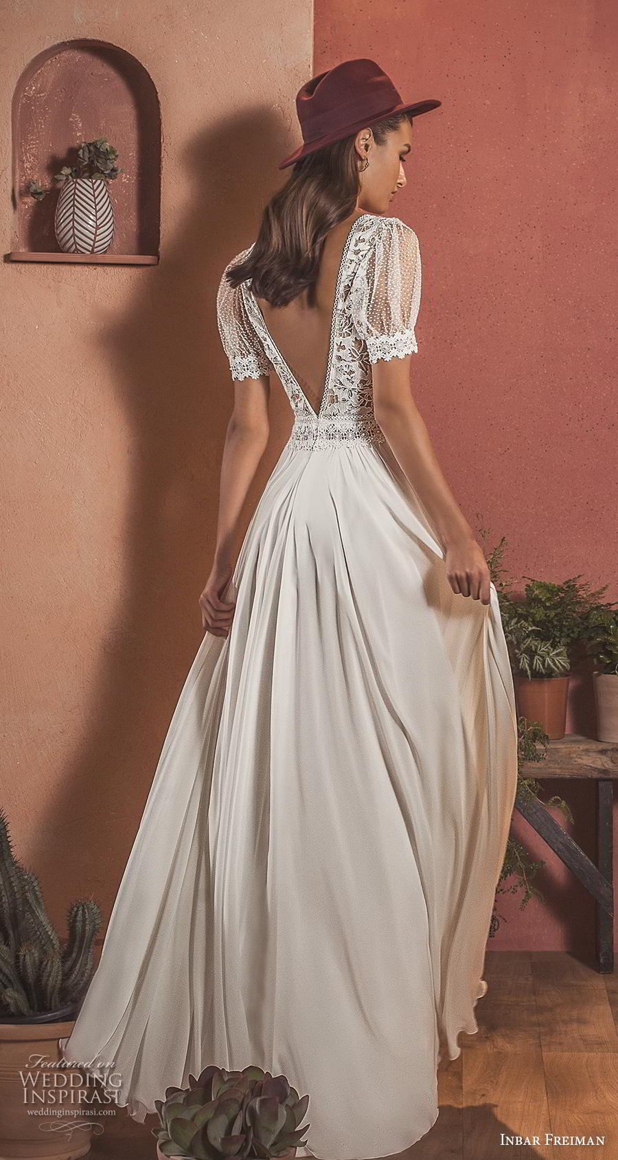 Inbar Freiman 2020 Wedding Dresses Wild Feather Bridal Collection Wedding Inspirasi,Mother In Law Wears Wedding Dress To Sons Wedding